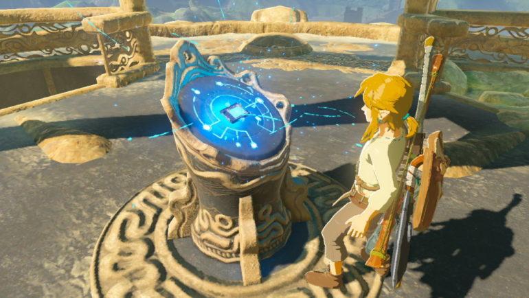The Legend of Zelda: Breath of the Wild Tablette Sheikah