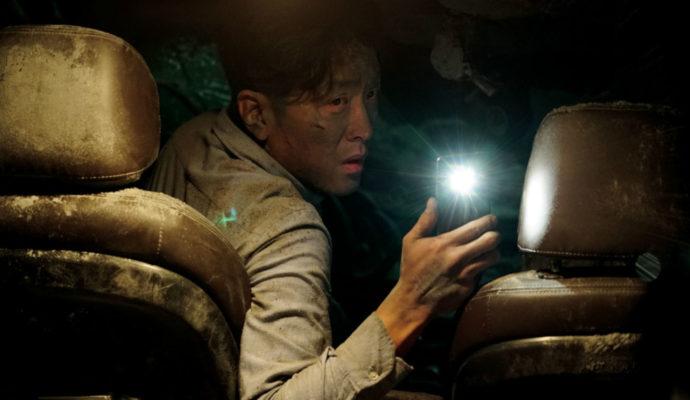 Tunnel Lee Jung-soo dans sa voiture