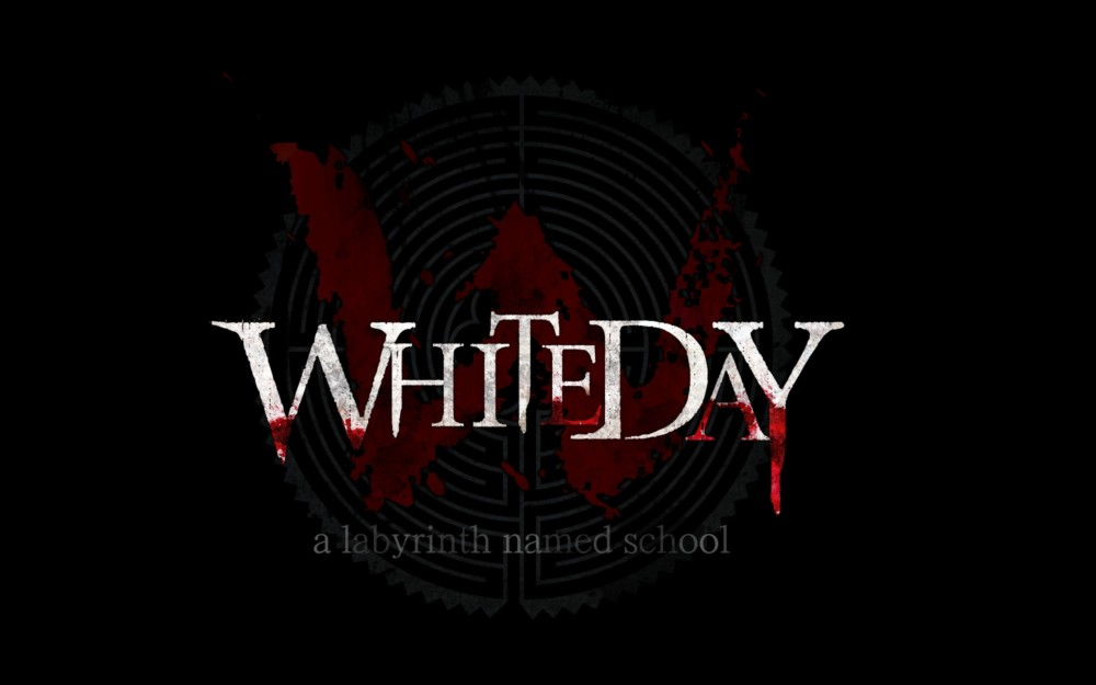 White Day: A Labyrinth Named School Logo