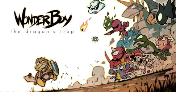 Wonder Boy: The Dragon's Trap visuel cool