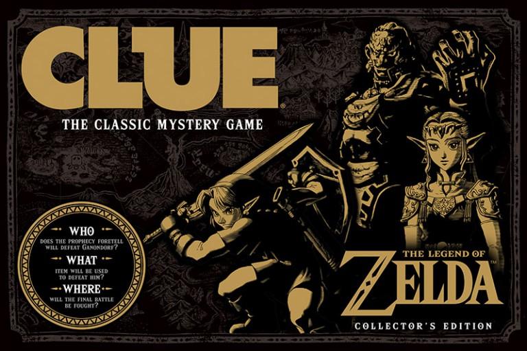 Cluedo Zelda - la boite