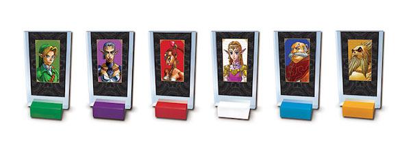Cluedo Zelda - personnages