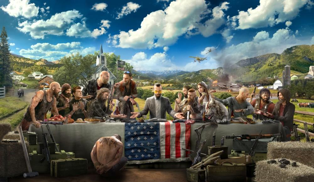 Far Cry 5. Cette scène me rappelle une scène. Mais laquelle ?