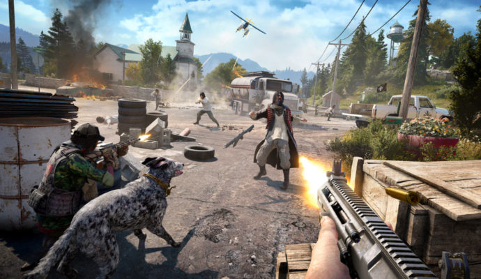 Far Cry 5 communication avec l'autochtone