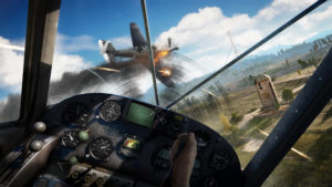Far Cry 5 dogfight