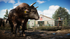 Far Cry 5 une vache