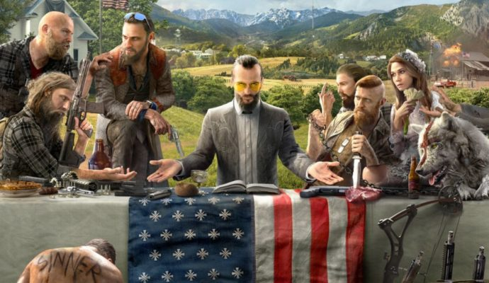 Artwork Far Cry 5 complet
