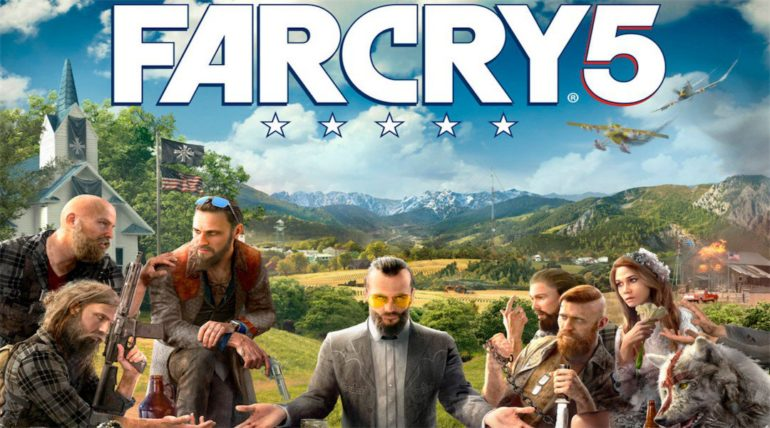 far cry 5 artwork incomplet