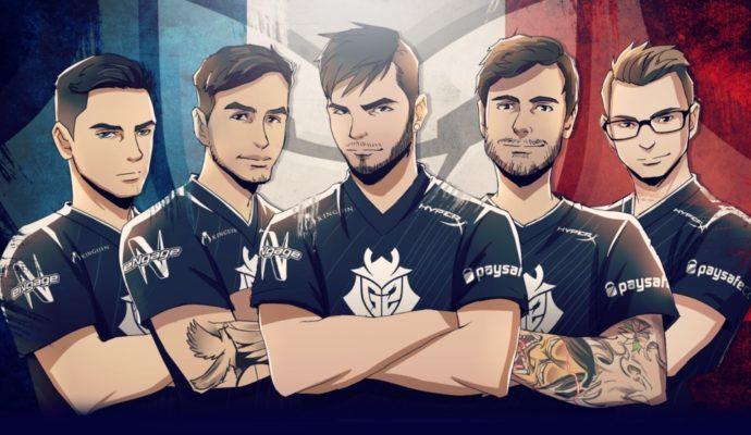 Dreamhack Tours 2017 - G2 Esport Counter Strike: Global Offensive