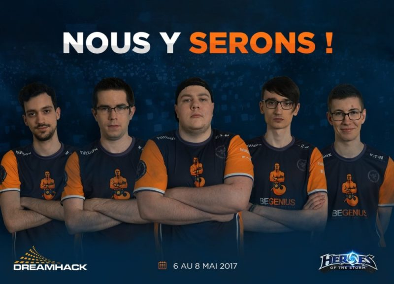 Dreamhack Tours 2017 - BeGenius vainqueur de Heroes of the Storm