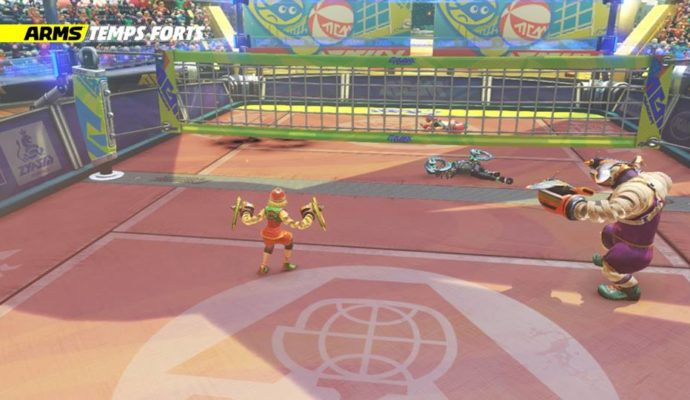 ARMS Global Testpunch combat volley