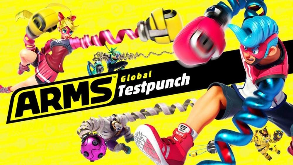 Image du menu de Arms Global Testpunch