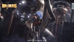 Une image de l'homme se soulevant afin de donner espoir à l'humanité dans Raiders of the Broken Planet