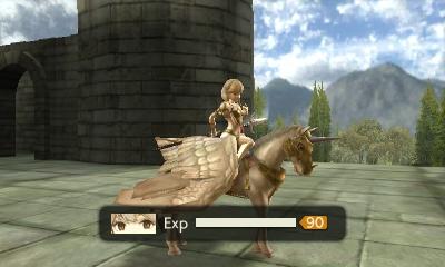 Faye, en chevalière faucon après combat dans Fire Emblem Echoes: Shadows of Valentia