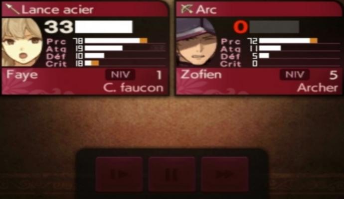 Les statistiques dans Fire Emblem Echoes: Shadows of Valentia