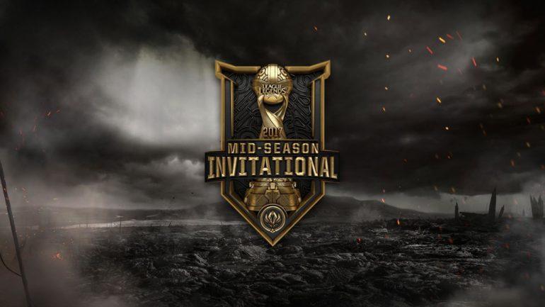 MSI 2017 League of Legends- affiche