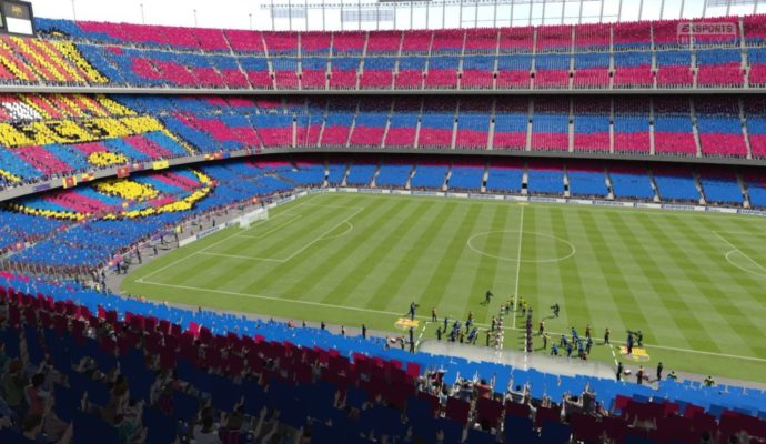 PES 2018 - stade