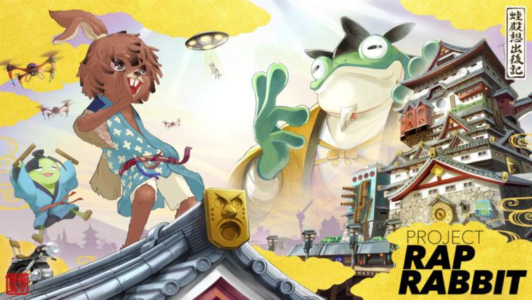 Project Rap Rabbit - screen