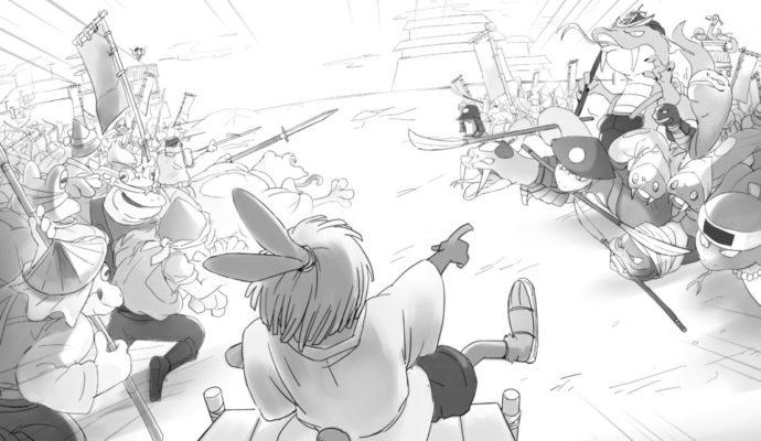 Project Rap Rabbit - dessin