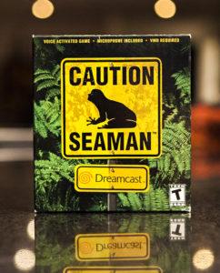Boîte Seaman Dreamcast
