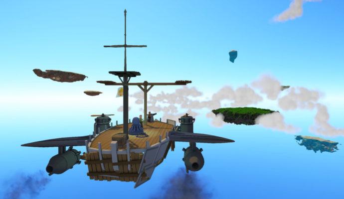 Worlds Adrift - vaisseau