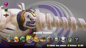 ARMS - Master Mummy