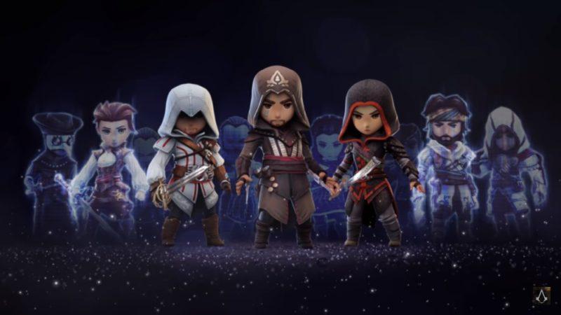 Assassin's Creed Rebellion plusieurs assassins