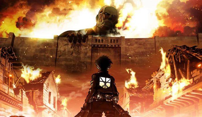 Attack on Titan 2 face au mur