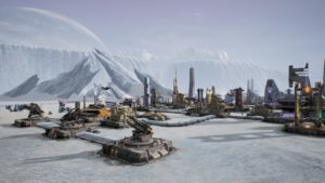 Aven Colony glace