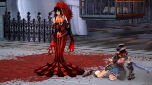 Bloodstained: Ritual of the Night Combat contre la femme en rouge