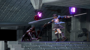 Bloodstained: Ritual of the Night Attaque verticale