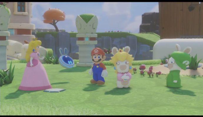Mario + Lapins Crétins: Kingdom Battle personnages