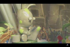Mario + Lapins Crétins: Kingdom Battle lapino premier