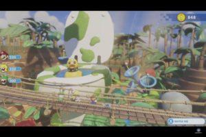 Mario + Lapins Crétins: Kingdom Battle wtf ?