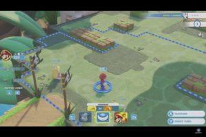 Mario + Lapins Crétins: Kingdom Battle combat