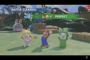 Mario + Lapins Crétins: Kingdom Battle Victoire