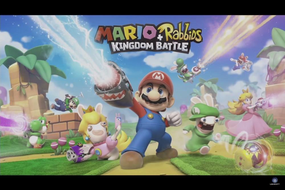 Mario + Lapins Crétins Kingdom Battle visuel