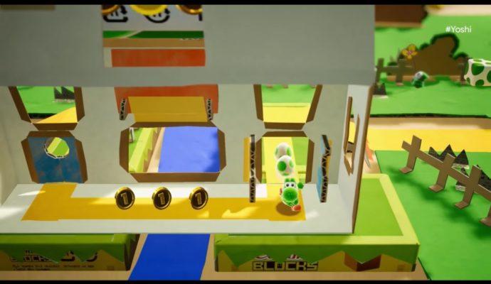 Yoshi gameplay
