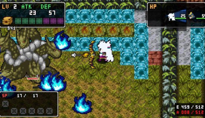 Cladun Returns : This Is Sengoku! - donjons