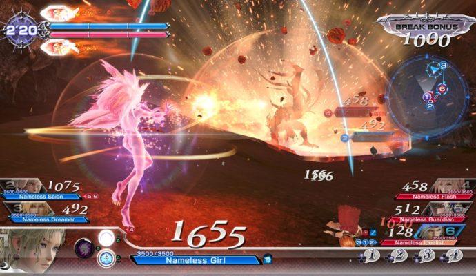 Dissidia Final Fantasy NT Terra transformée en Esper