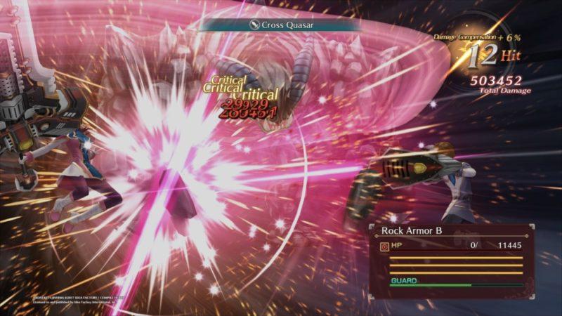 Dark Rose Valkyrie Combat impact