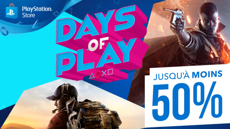 Days of Play affiche