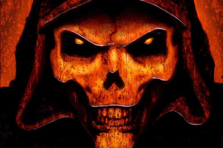 Logo Diablo 2 Blizzard