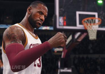 E3 2017 NBA Live 18 LeBron James