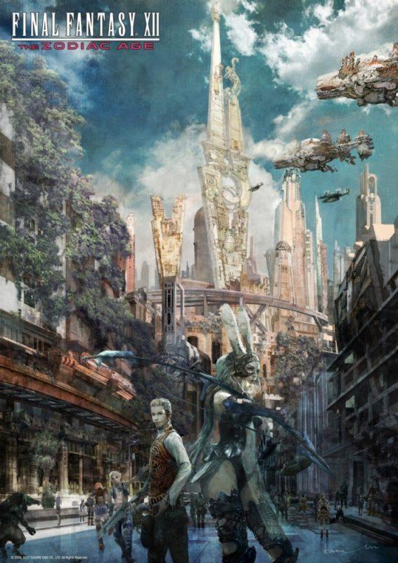 Final Fantasy XII The Zodiac Age illustration