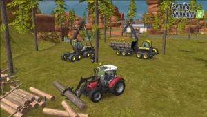 Farming Simulator 18 exploitation forestière