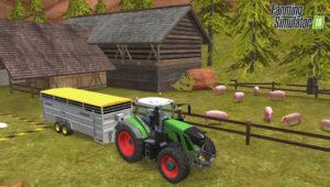 Farming Simulator 18 cochons