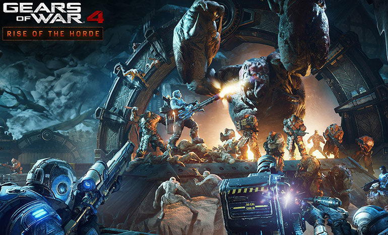 Gears of War 4 Rise of the Horde Titre