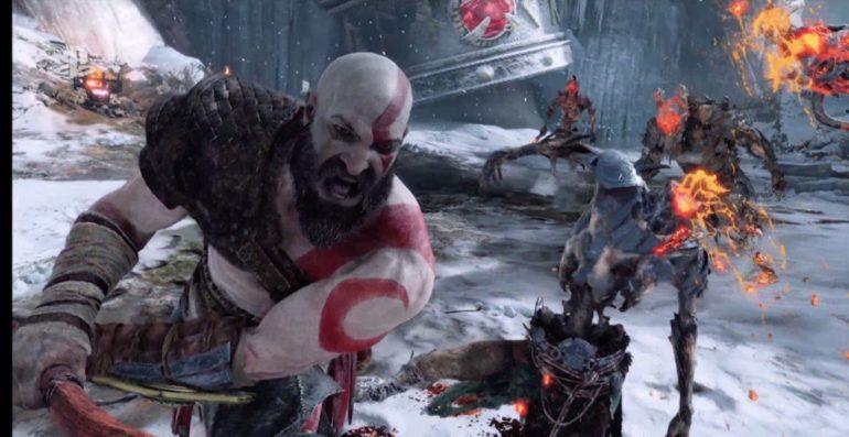 E3 2017 God of War combat