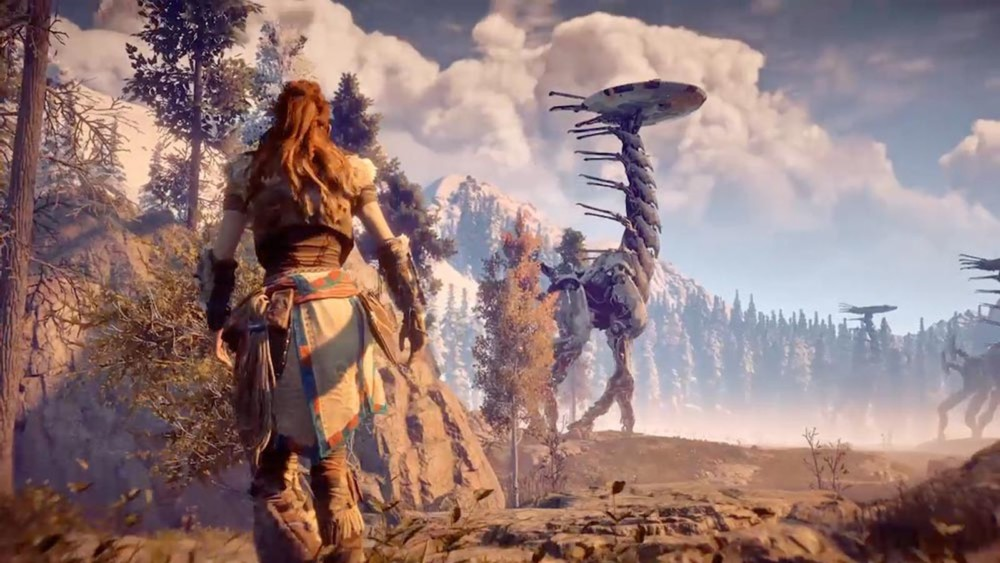 e3 2017 Horizon Zero Dawn: The Frozen Wilds